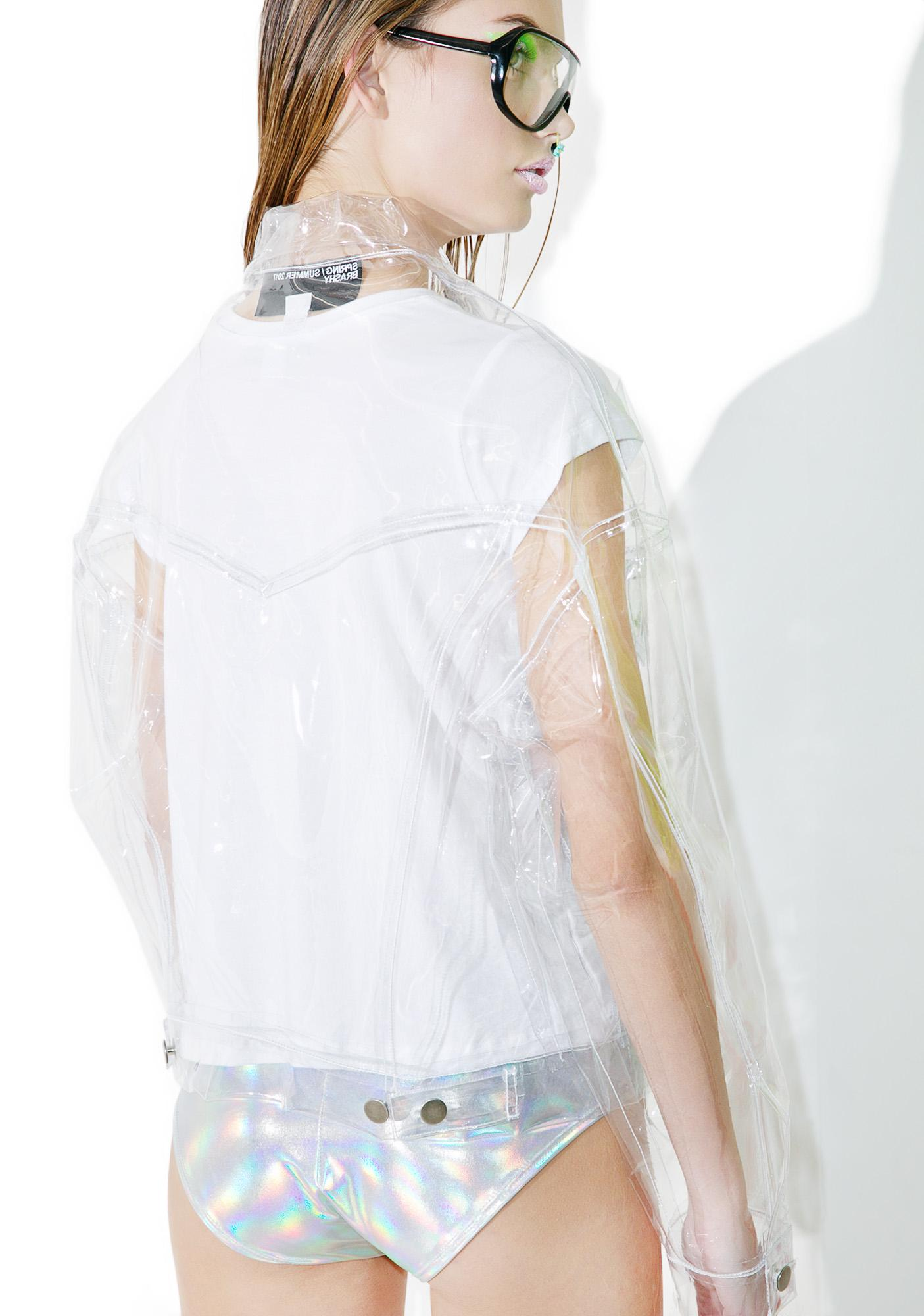 Brashy Crystalline Clear Jacket