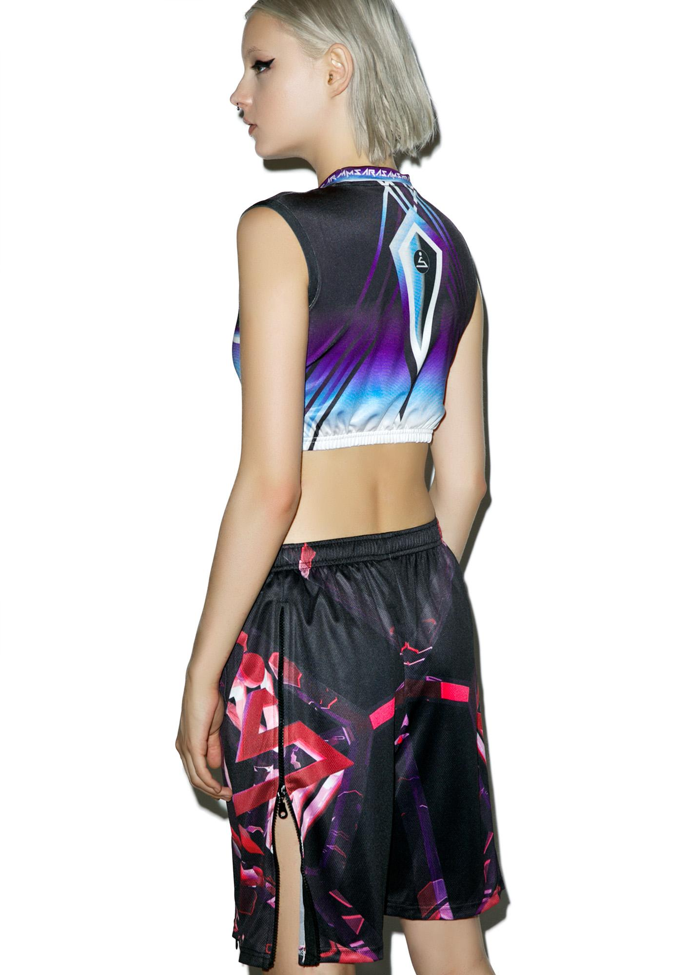 Samsara Hypercube Zipper Shorts