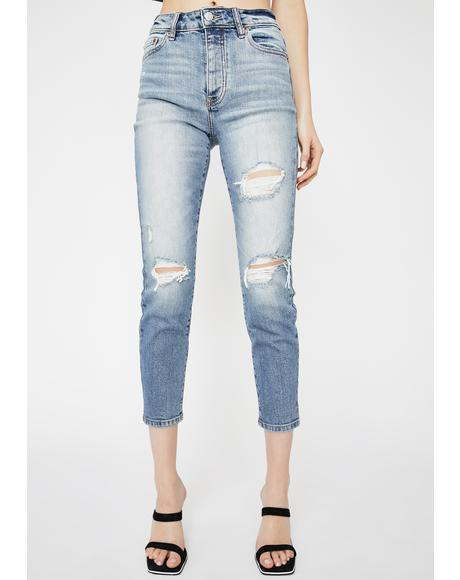 Original Distressed Skinny Jeans