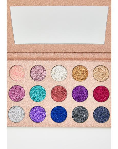 Crystals Glitter Eyeshadow Palette