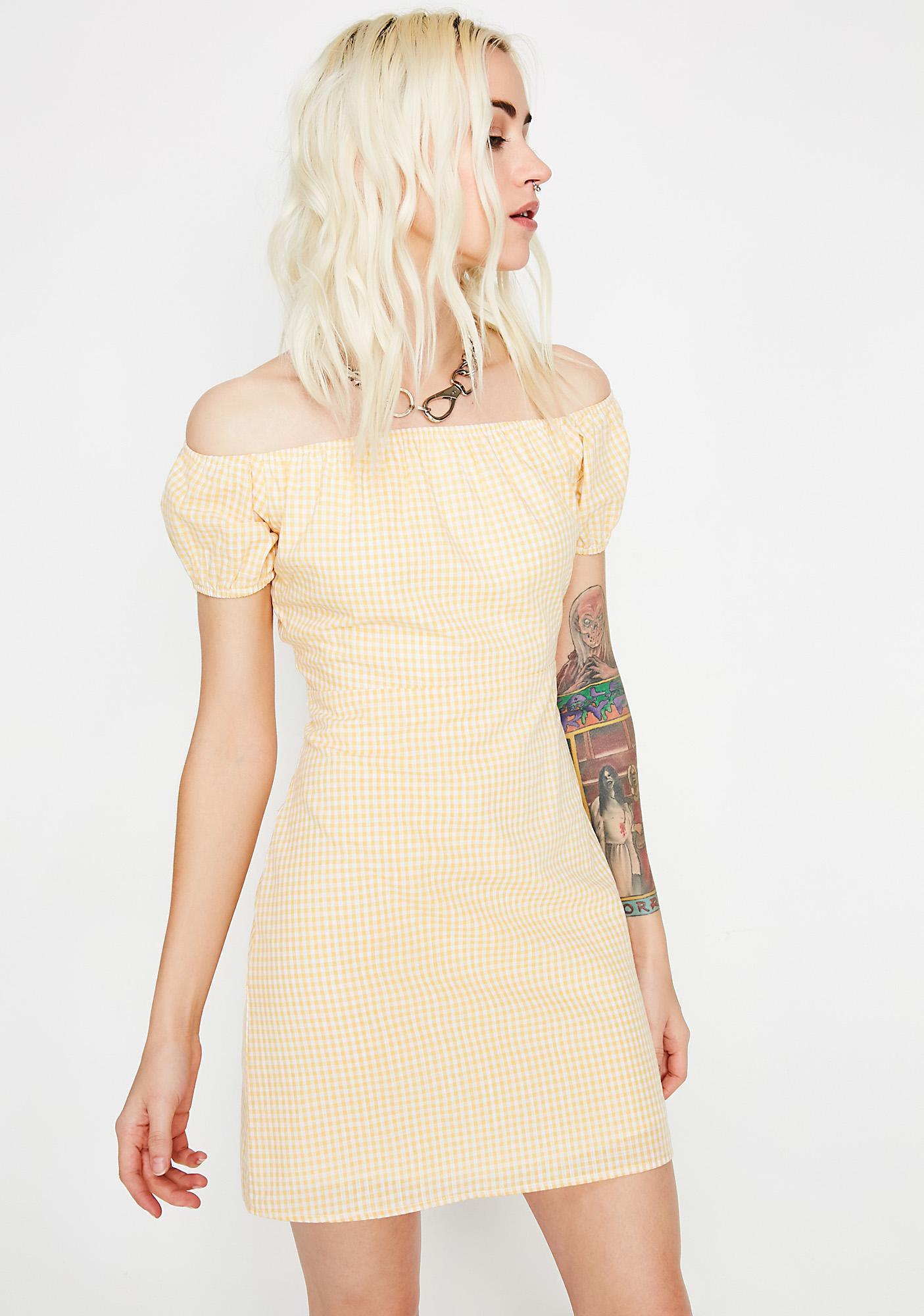 Sunny Hunny Gingham Dress