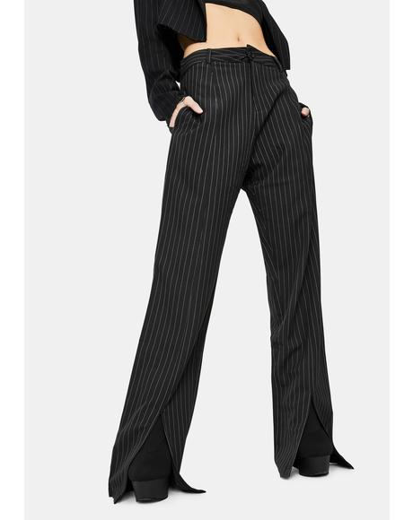 Gesta Pinstripe Trousers