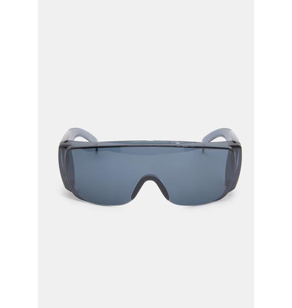 Pass The Test Shield Sunglasses