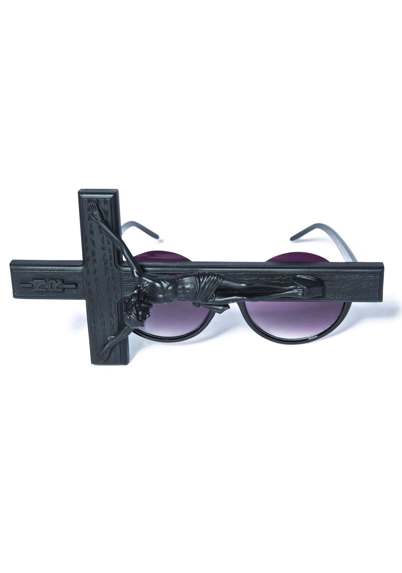 Gasoline Glamour Jesus Throwing Shade Sunglasses