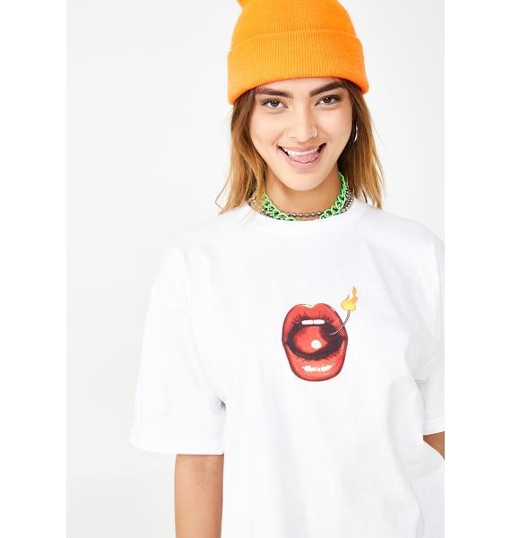 HUF Hot Lips Graphic Tee
