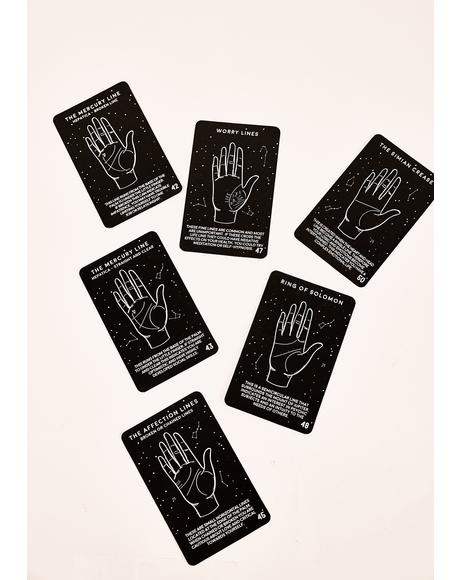 Constant Surprises Palm Reading Cards