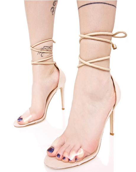 Scandalous Wrap Heels