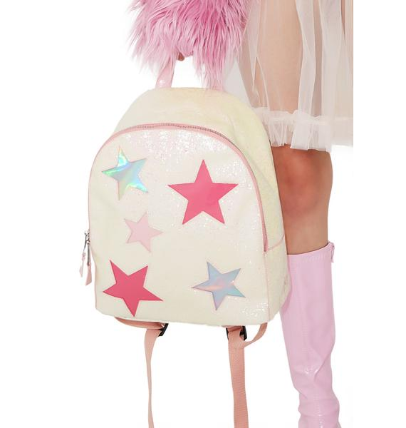 Y.R.U. Hologram Glitter Backpack