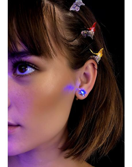 Shining Star Light Up Earrings
