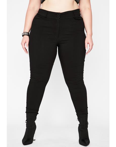 True Killer Match High Waist Pants