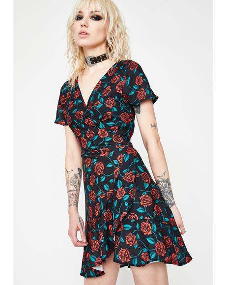 Love Empress Wrap Dress