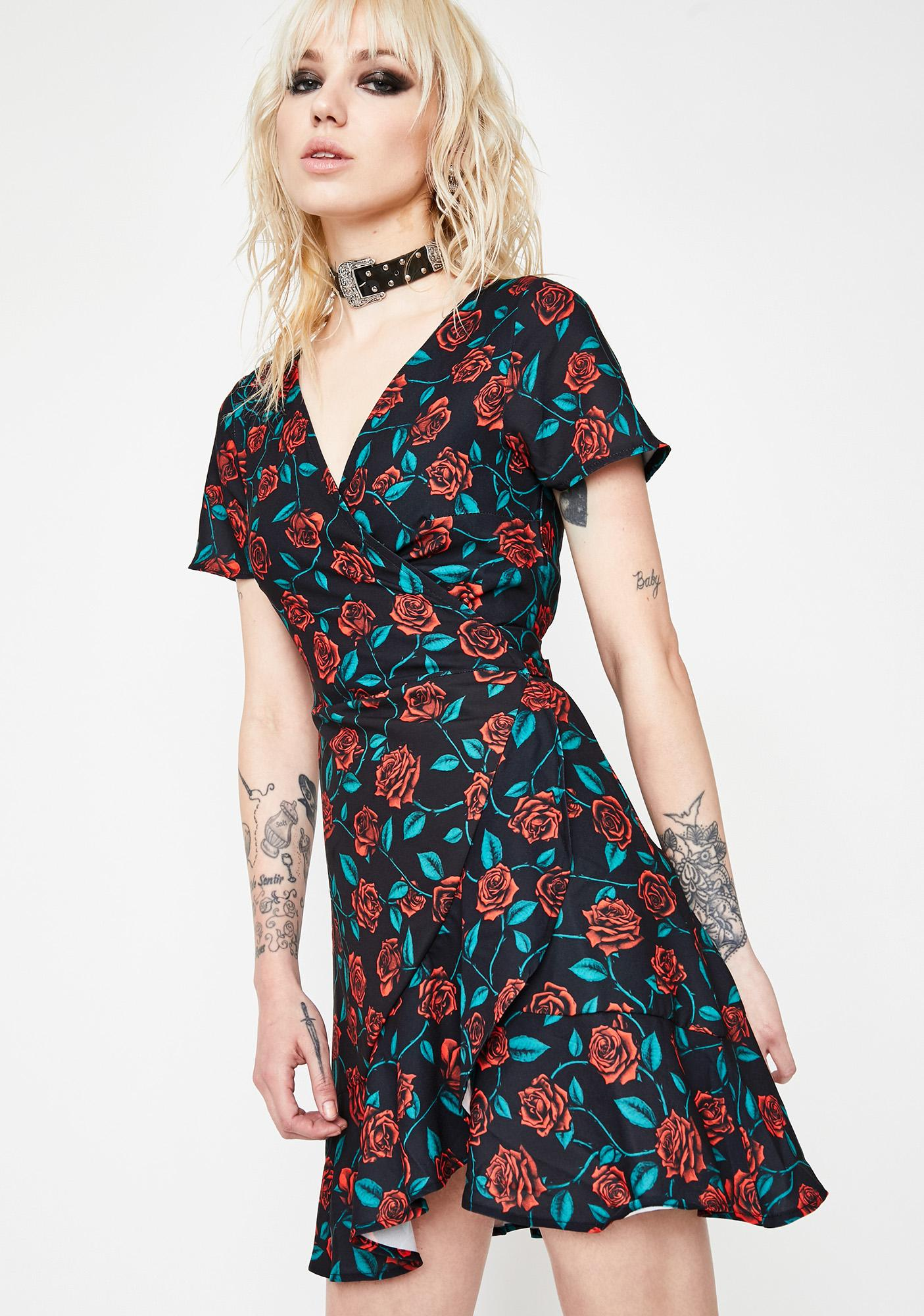 HOROSCOPEZ Love Empress Mesh Dress