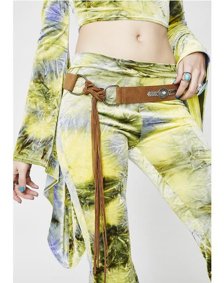 Hippie Hippie Shake Fringe Belt