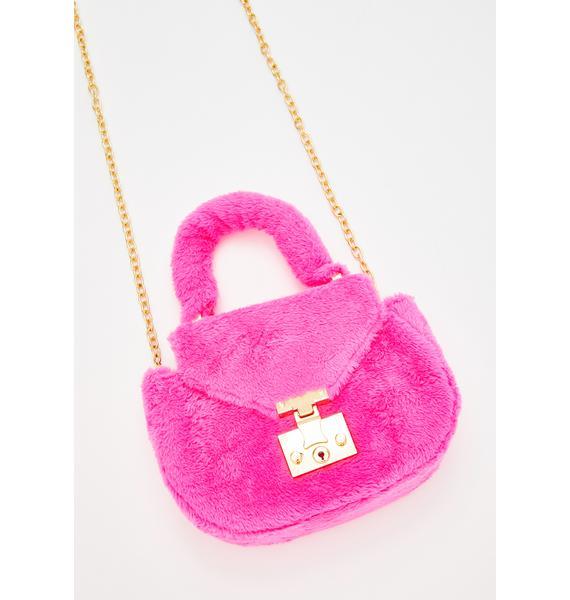 Prissy N' Purrty Furry Handbag