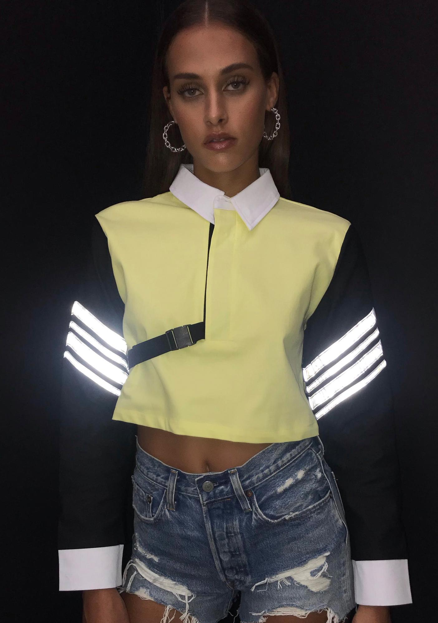 Street Vixen Reflective Crop Top
