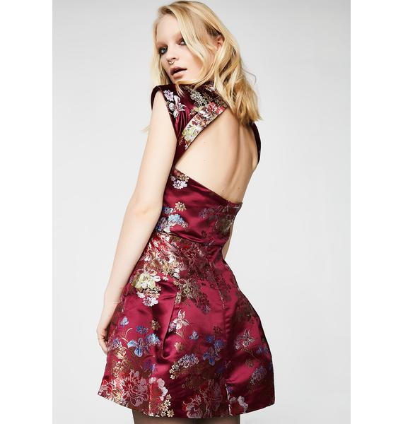 Glamorous Lovely Night Fit N' Flare Dress