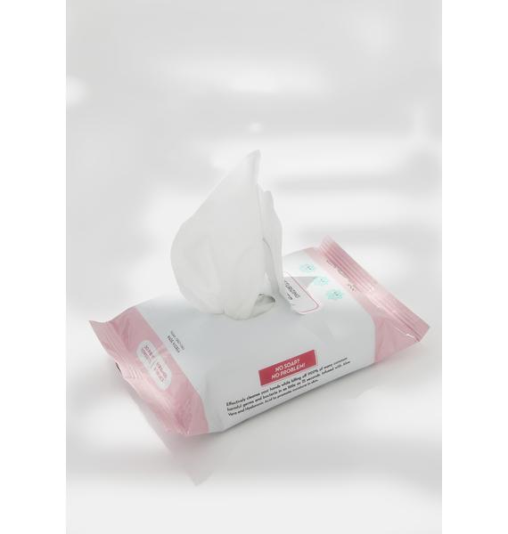 The Crème Shop Mixed Berry Moisturizing Sanitizer Towelettes