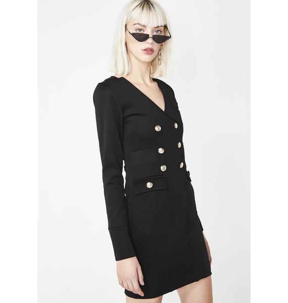 Kiki Riki Boss Up Blazer Dress