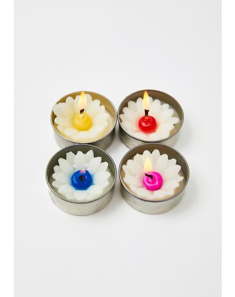 Pocket Full Of Daisies Candle Set