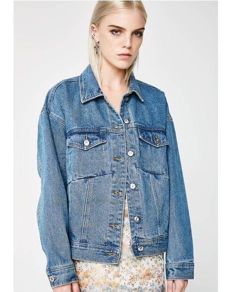 Stop Thinking Denim Jacket
