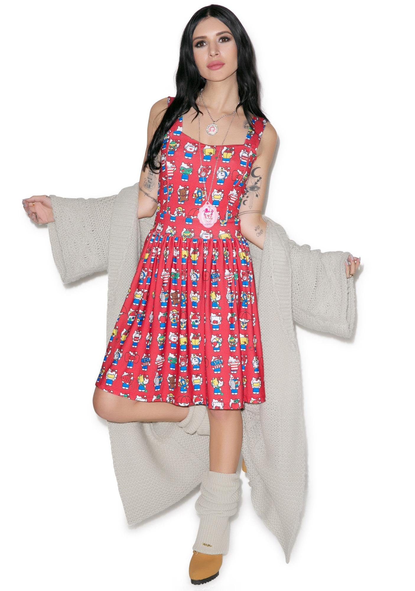 Japan L.A. All My Favorite Things Dress
