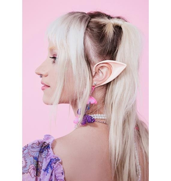 Chair and Chisel Pink Short Elf Ears