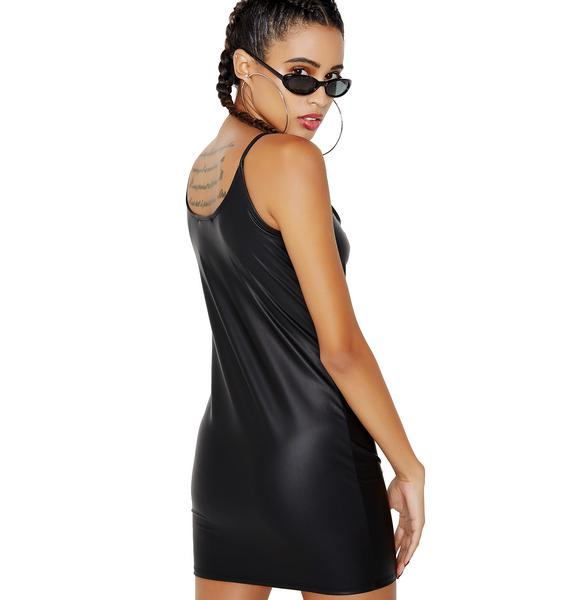 Strap In Bodycon Mini Dress