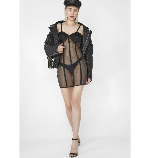 Jagger & Stone Midnight Claudia Mini Dress
