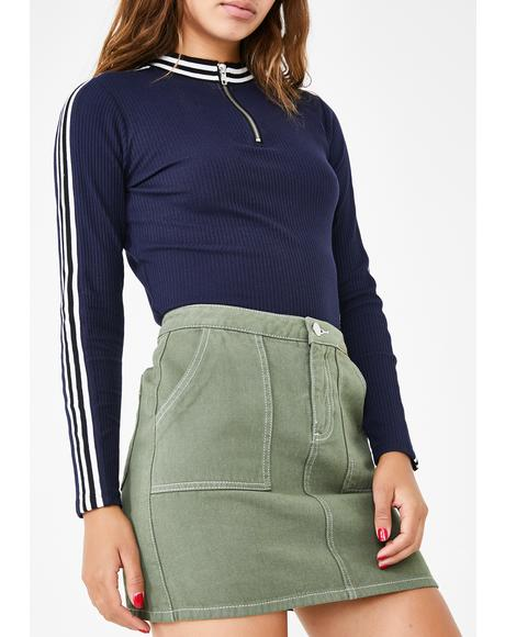 Teenage Mood Mini Skirt