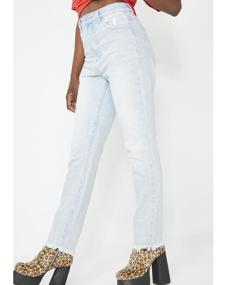 Dusters Light Wash Denim Jeans