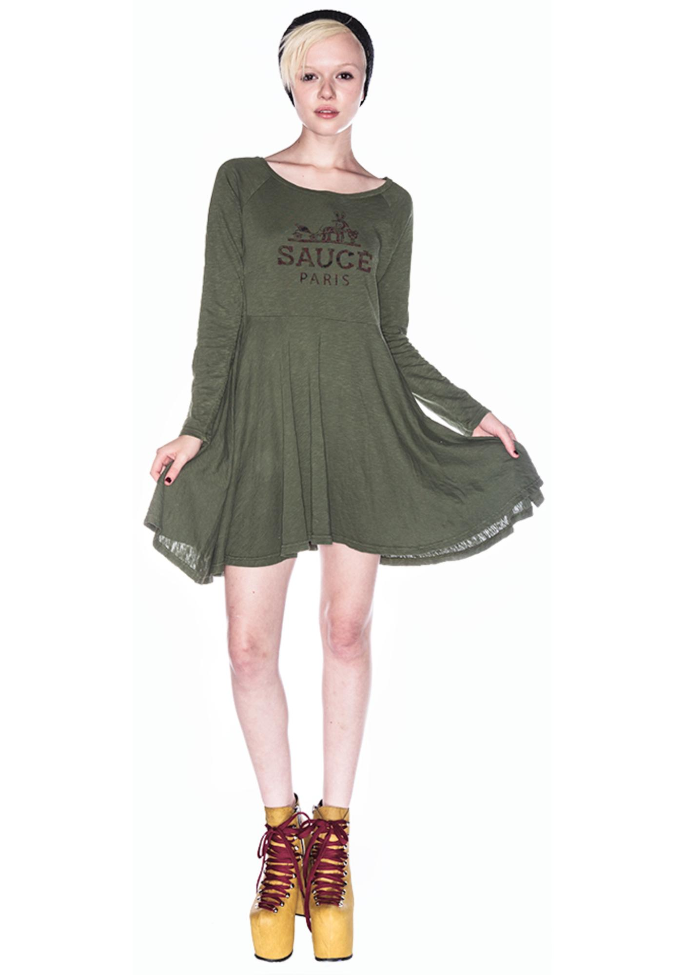 Sauce Window Dress