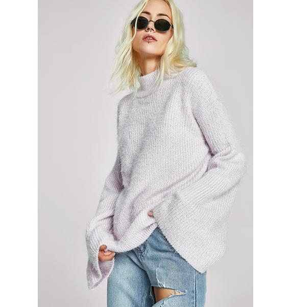 Playin' Innocent Knit Sweater