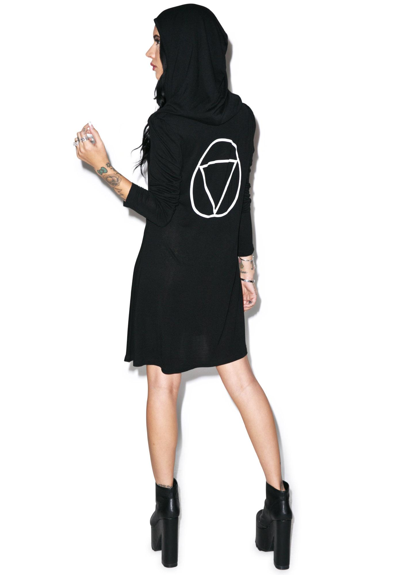 Disturbia Wraith Hooded Dress