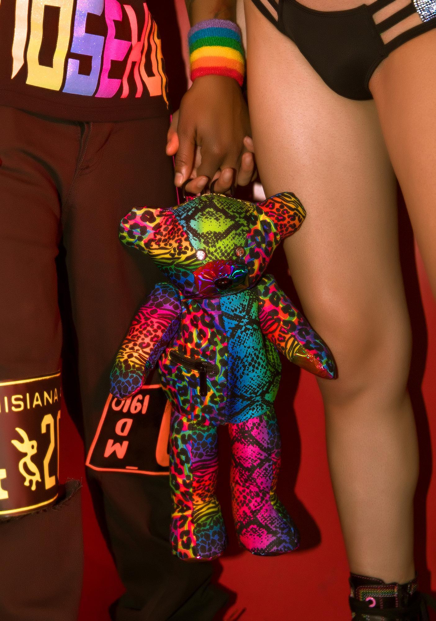 Club Exx Wild Sidekick Teddy Backpack
