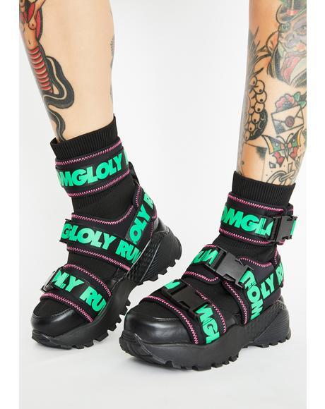 Teq Platform Sneakers