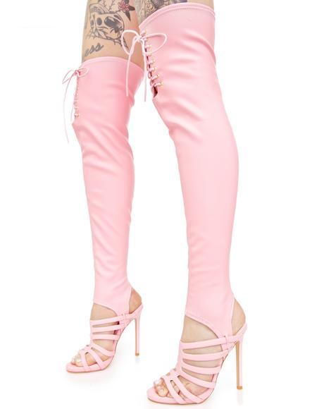 June Thigh-High Heels