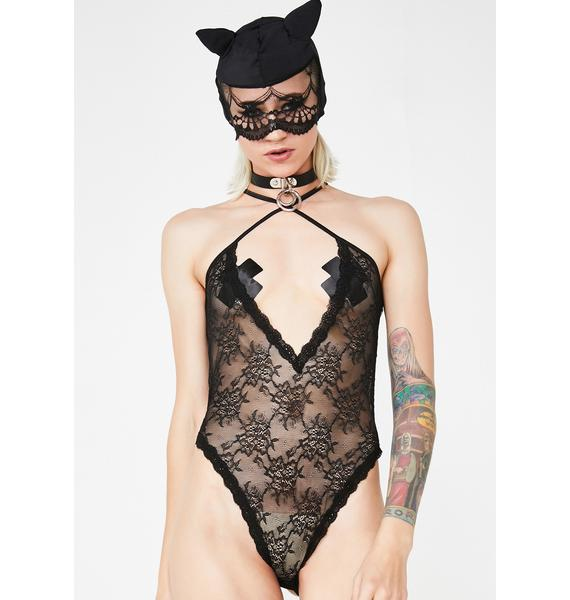 Bad Kitty Teddy N' Mask Set