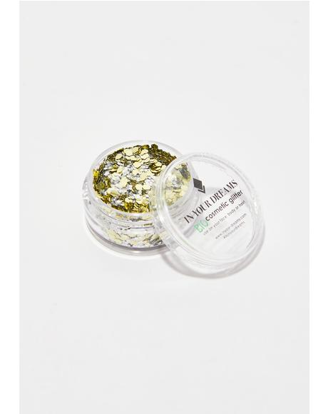 Golden Mirage Bio Chunky Glitter