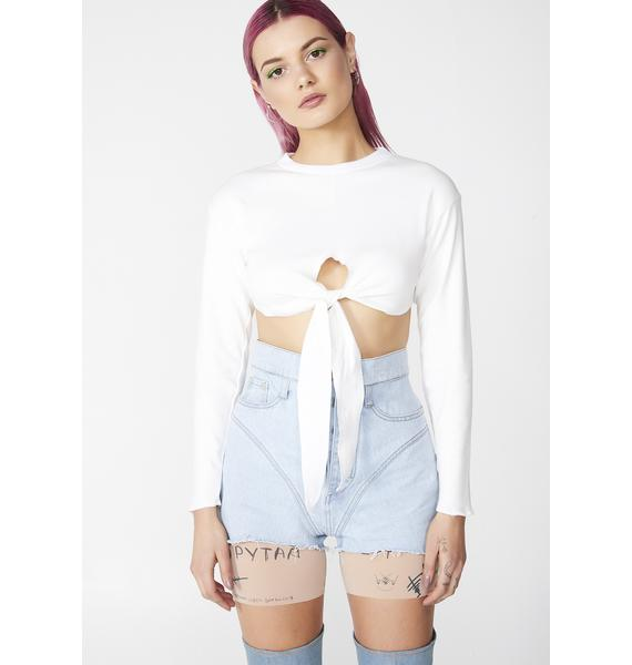 Riccetti Clothing Crossed Top