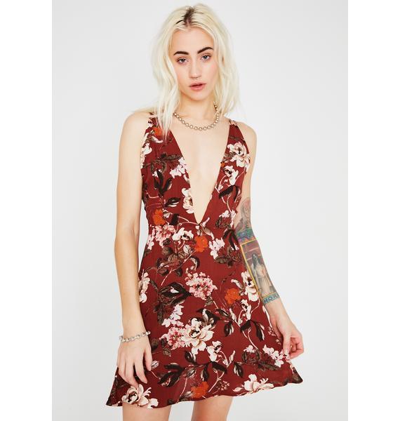 Sweet October Floral Dress
