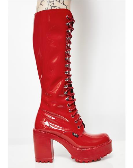 Flame Lash Boots
