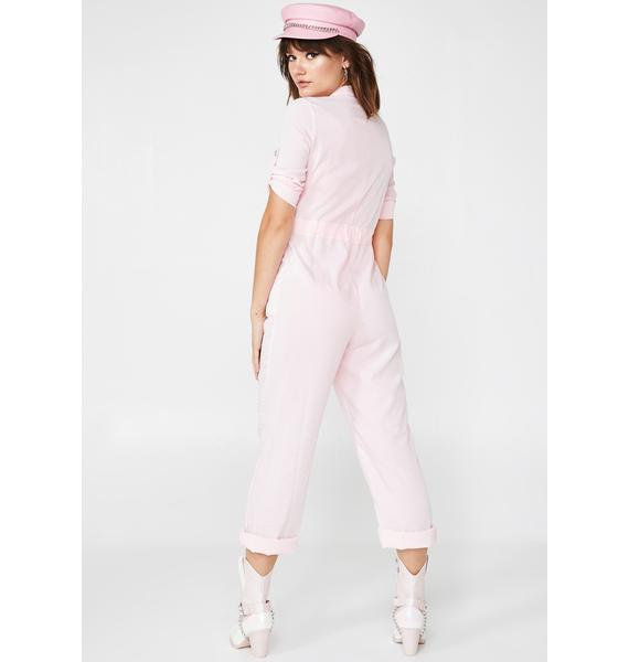Sweet Tingz Belted Jumpsuit