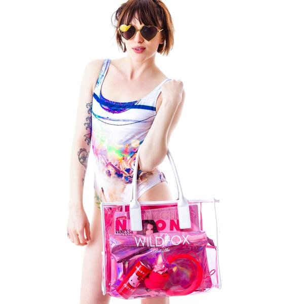 Wildfox Couture Wildfox Bel Air Vinyl Tote
