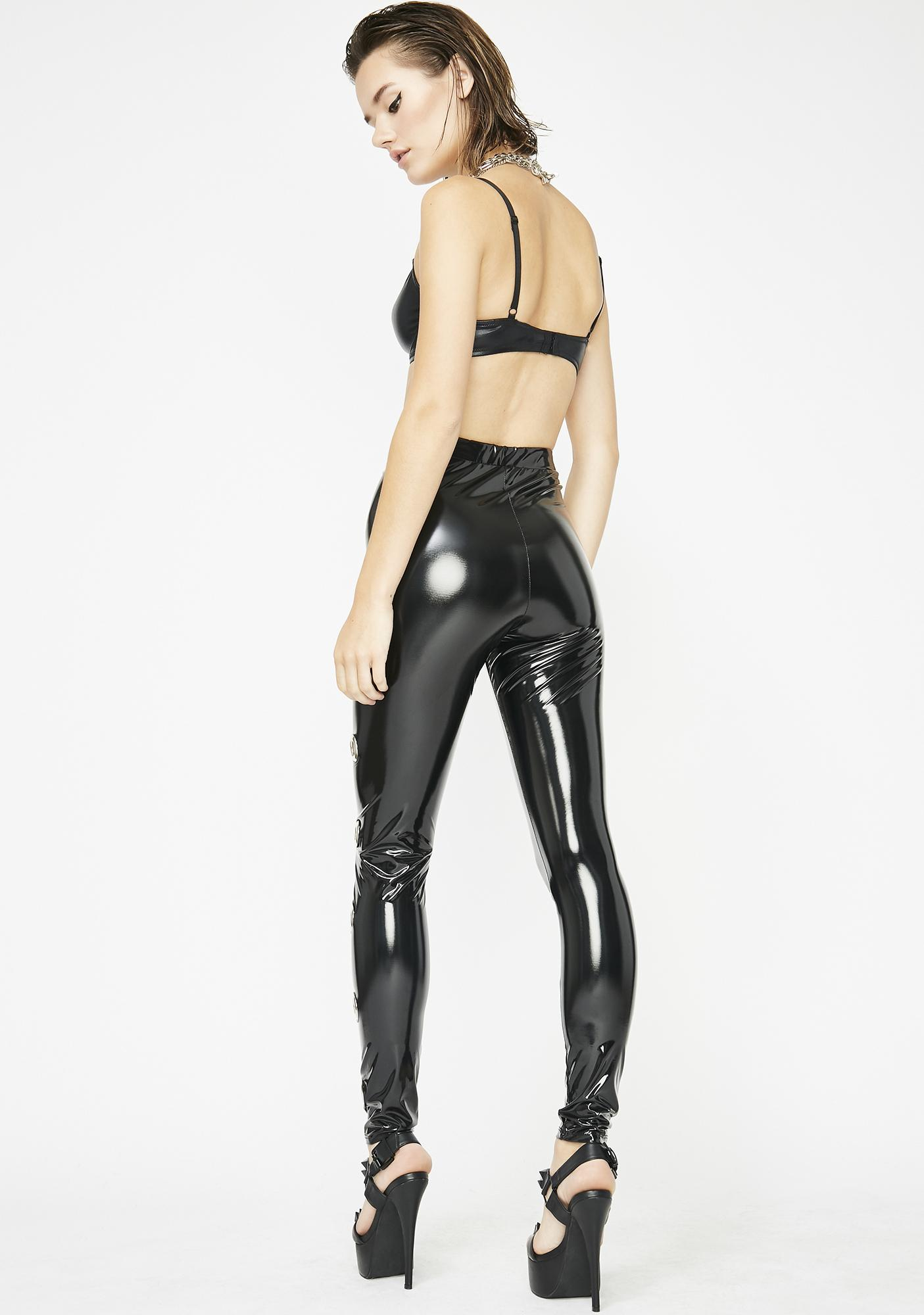 Better Than Before Vinyl Leggings