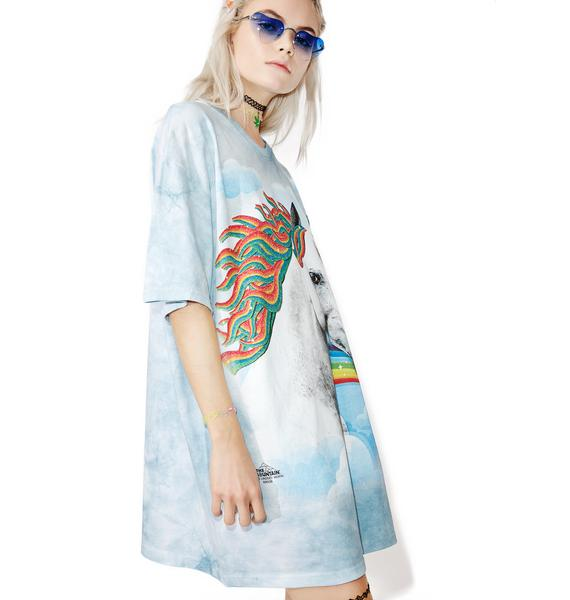 Candy Mountain Oversized Tee