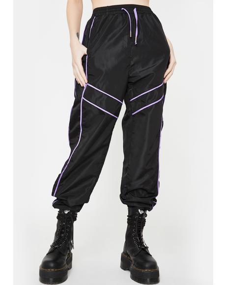 Paneled Sports Trousers