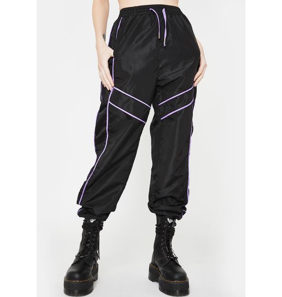 Daisy Street Paneled Sports Trousers
