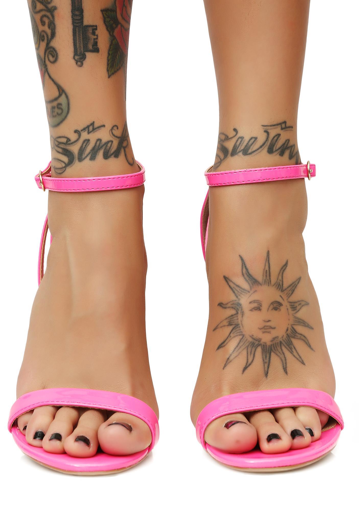 Candy Feelin' Bold Strappy Heels