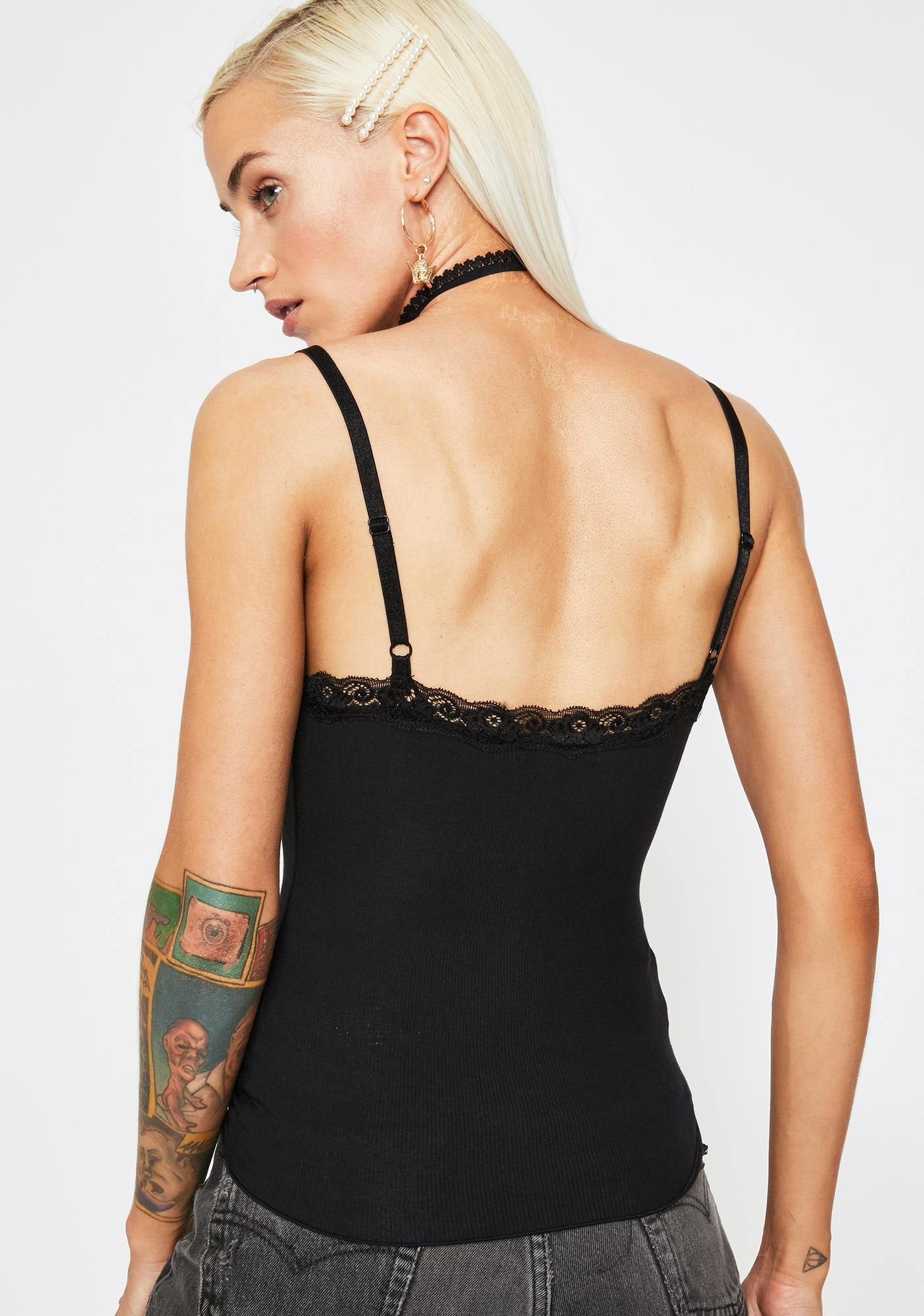 Current Mood Night Junebug Lace Cami