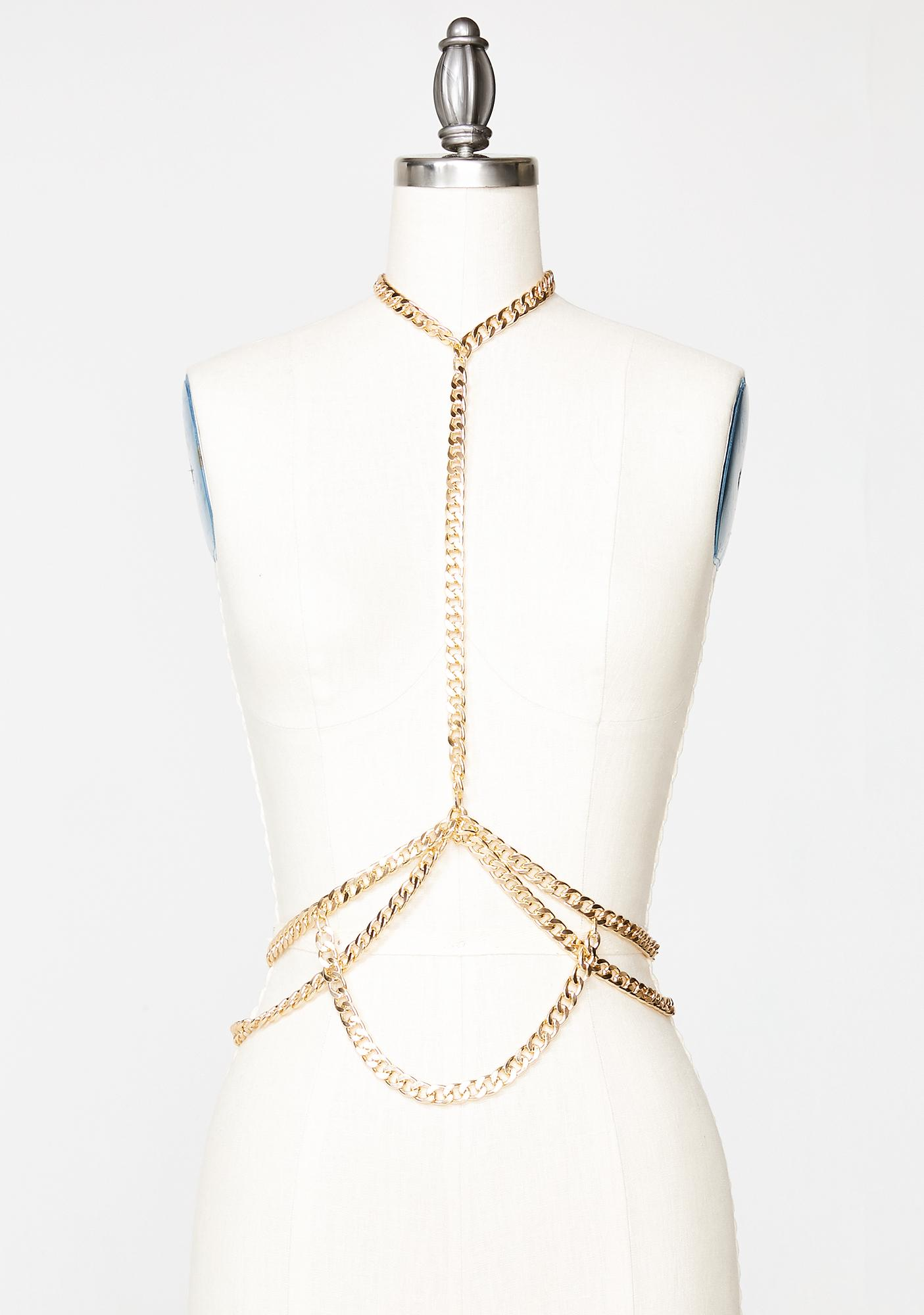 Chained My Way Body Chain